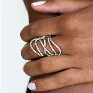 Chasing starlight brown ring